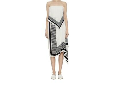 AU65 • Buy Viktoria Woods Size 0 (AU 6) White Cream Black Canter Dress BNWT RRP $490