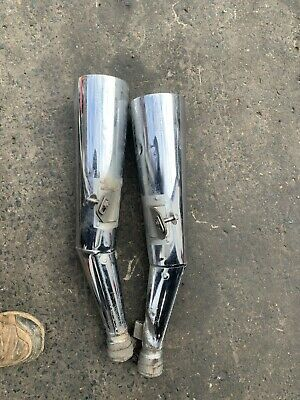 AU60 • Buy Yamaha Xjr1300 2000 Model Pair Of Mufflers With Scrapes And Scratches 5ea-1