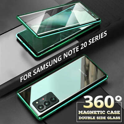 AU20.99 • Buy Case For Samsung Galaxy S20 FE S21 Note20 360° Magnetic Glass Protection Cover
