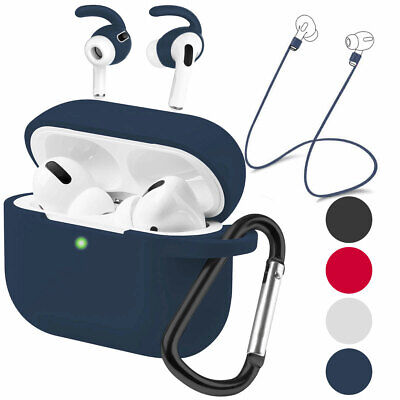 AU11.76 • Buy For Apple AirPods Pro 3rd Silicone Shockproof Case + Anti Lost Air Pods Earbuds