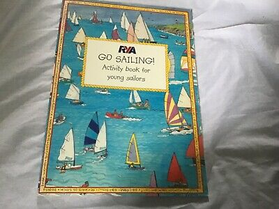 £5.50 • Buy RYA Go Sailing Activity Book For Young Sailors