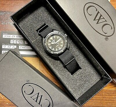 $ CDN1502.98 • Buy .CWC 1983 Re-issue Special Boat Service Watch Mint In Box SF300-87. L/Ed Of 100