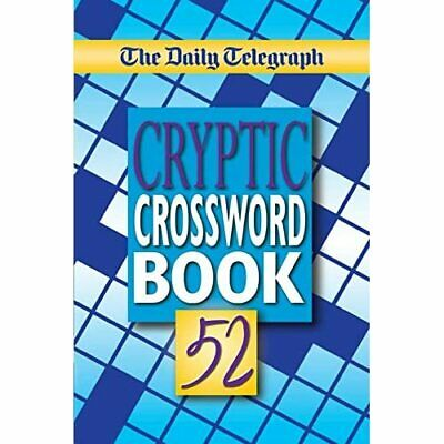 £9 • Buy The Daily Telegraph Cryptic Crosswords Book 52 - Paperback / Softback NEW Limit