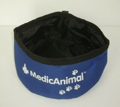 Pet Travel Bowl For Water Or Food.  Waterproof And Foldaway. Brand New • 1.99£