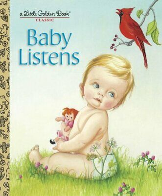 £4.99 • Buy Baby Listens (Little Golden Book) By Wilkin, Esther Book The Cheap Fast Free