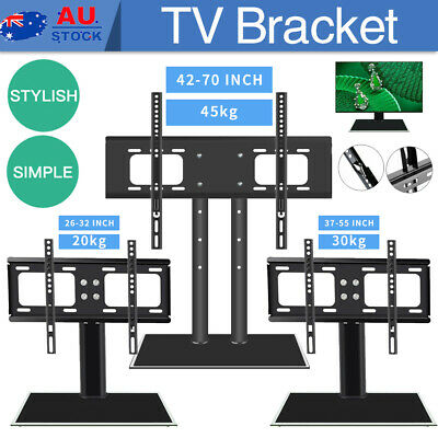 AU40.09 • Buy Universal TV Riser Stand Mount For Samsung Sony Sharp 26 32 37 42 55 70  LCD LED