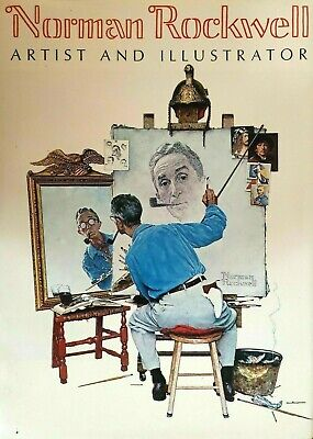$ CDN42.51 • Buy Artist And Illustrator Hardcover Book By Norman Rockwell 1971 Time Life Edition