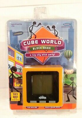 £89.91 • Buy New RADICA Cube World Block Bash Hand Held Electronic Game 2007 Unopened New Toy