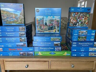 £7.50 • Buy Gibsons, 1000 Piece Jigsaw Puzzles - Multi Listing