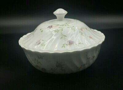 £13.90 • Buy Vintage Wedgwood  Campion  Fluted Round Lidded Bon Bon Dish-Excellent Condition