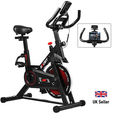 Spin Home Gym Sports Exercise Fitness Bike/Cycle Fitness Cardio Workout Machine • 158.98£