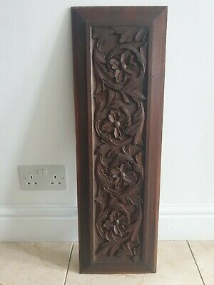 £59.99 • Buy Handmade Carved Victorian Wooden Panel