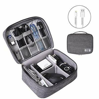 AU27.03 • Buy Cable Organiser Bag - Travel Electronic Accessories Case