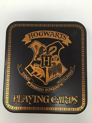 £9.43 • Buy Harry Potter Hogwarts Playing Cards In Collectable Tin (Standard 52 Card Deck)