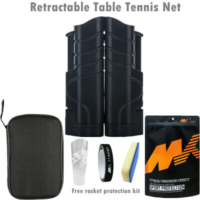 AU18.99 • Buy 190x15CM Retractable Table Tennis Net Rack Replacement Portable Ping Pong Sports