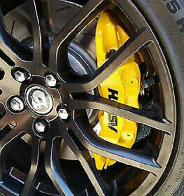 AU15 • Buy Set Of 4 GLOSS BLACK HSV Brake Caliper Decals Suit VE-VF SS MALOO GTS