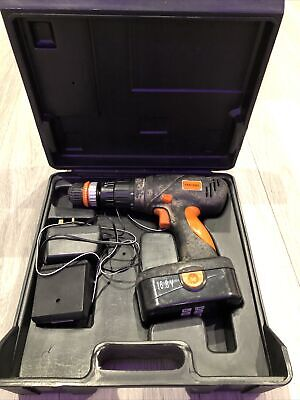 Challenge Xtreme Cordless Drill 16.8V With Case. One Battery With Drill Bits • 25£