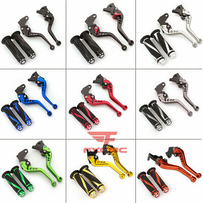 $25.99 • Buy For ZX12R 2000-2005 VERSYS 1000 2012-2014 Z1000 ZX6R Brake Clutch Levers Grips