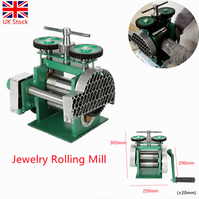 Proops Jewellers Small Corrugated Rolling Mill Microfold Brake 24 Gauge