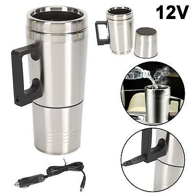 £10.59 • Buy Travel 12V Car Thermos Thermal Heating Mug Cup Kettle Plug Heated Auto Adapter