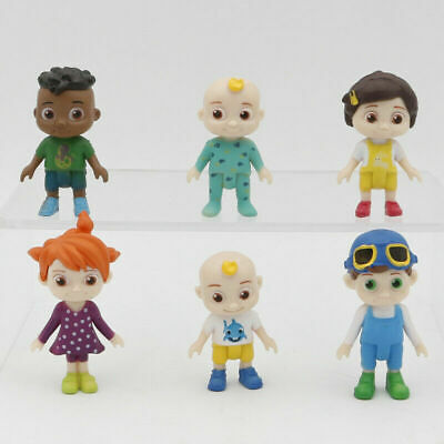 £8.49 • Buy New Cocomelon Family & Friends 6pcs Action Figures Pack Toy Doll Xmas Gift