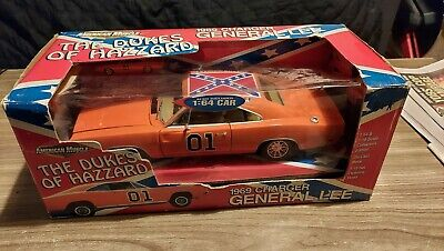 £220 • Buy THE DUKES OF HAZARD GENERAL LEE CAR 1969 Dodge Charger In Box 1:64 CAR INCLUDED