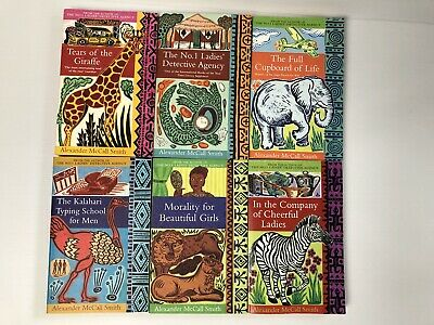 AU47.45 • Buy Lot X 6 Alexander McCall Smith The No. 1 Ladies' Detective Agency Books