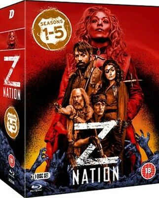 AU85.99 • Buy Z Nation Season 1 To 5 - The Complete Collection Blu-ray [uk] New Bluray