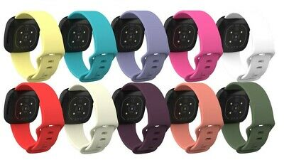 $ CDN6.88 • Buy Watch Strap Replacement Bracelet Wristband Silicone Band For Fitbit Versa 3