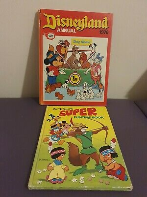 £9.99 • Buy  DISNEYLAND ANNUAL • 1976 • Fleetway Unclipped & 1974 Super Funtime Book