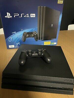 AU342 • Buy 1TB PS4 PRO   2 Games (Perfect Condition)