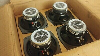 £71.68 • Buy Dalesford England Feroba II D153 6.5 New Old Stock NOS Speakers Drivers KEF B110