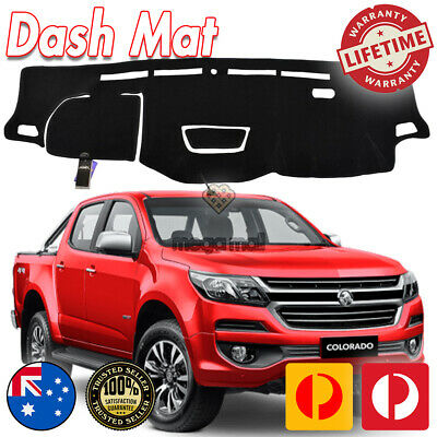 AU59.99 • Buy DASH MAT HOLDEN COLORADO RG MY17 LS-LT- LTZ- Z71 Aug/2016-19 HUD Black DM1443D