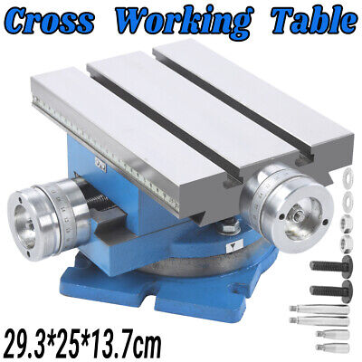 £171.90 • Buy Multifunction Working Table Milling Machine X Y Cross Worktable For Bench Drill