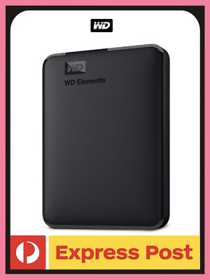 AU198 • Buy NEW Western Digital Elements Portable Hard Drive | 5TB