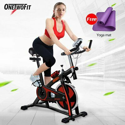 OTF 10KG Spin Home Gym Exercise Fitness Bike Fitness Cardio Workout Machine • 184.99£