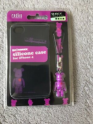 $19.46 • Buy Be@rbrick Iphone 4 Case With 50% Bearbrick Charm BN Sealed