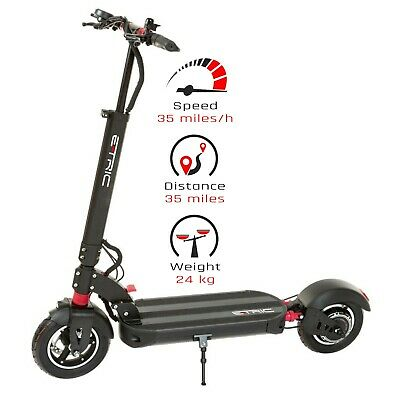 £1095 • Buy ZERO EMISSIONS ELECTRIC SCOOTER 52V 18Ah E-TRIC GT-2, 1000W, 35MPH