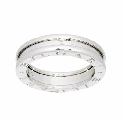 AU778.75 • Buy BVLGARI B-zero1 Ring 18K WG White Gold 750 Size51 5.5-5.75(US) 90120640