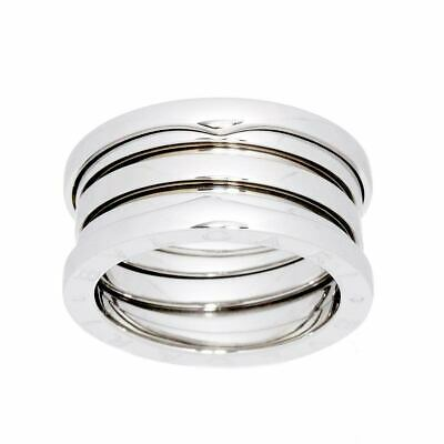AU968.75 • Buy BVLGARI B-ZERO 1 4 BAND Ring 18K WG 750 Size54 6.25-6.5(US) 90121030
