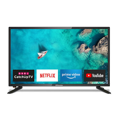£199 • Buy EMtronics 24  Inch 12 Volt 720p LED Smart 12v TV With Freeview HD And HDMI, USB