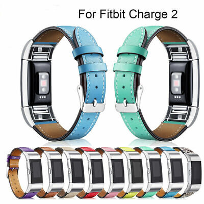 AU19.99 • Buy Fitbit Charge 2 Replacement Bands, Classic Genuine Leather Wristband Strap Bands