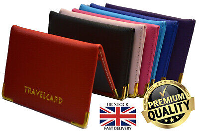 £1.50 • Buy New Unisex Travel Case Bus Pass Rail Oyster ID Provisional License Card Holder