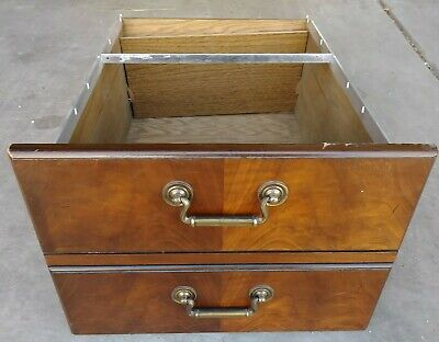 $69.99 • Buy Kimball Office Furniture File Cabinet Drawer Or Hardware Replacement Mahogany