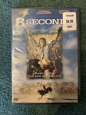 AU12.88 • Buy 8 SECONDS Luke Perry DVD NEW SEALED Movie Film Ride Of Your Life