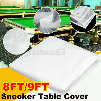 AU46.57 • Buy 8FT 9FT Pool Snooker Billiard Table Cover Waterproof Oxford Cloth Dust Outdoor