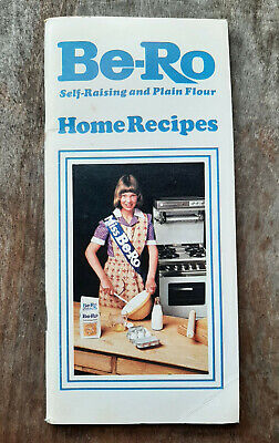 Be-Ro Self Raising And Plan  Flour Vintage Booklet 1970's • 28.99£
