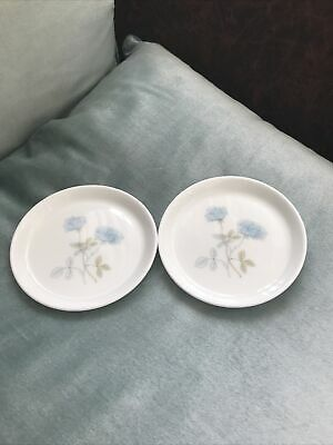 £7.99 • Buy Wedgwood - Ice Rose - Set Of 2 X 10 Cm Coasters / Butter Dishes
