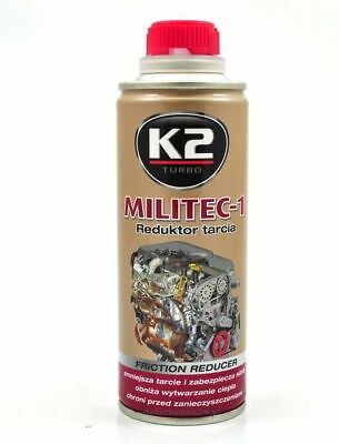 $28.98 • Buy K2 MILITEC 1 ENGINE OIL ADDITIVE AND FRICTION REDUCER 250 Ml.
