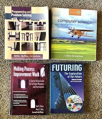 £14.31 • Buy 4 Computer Books Software Programming Futuring Science Overview